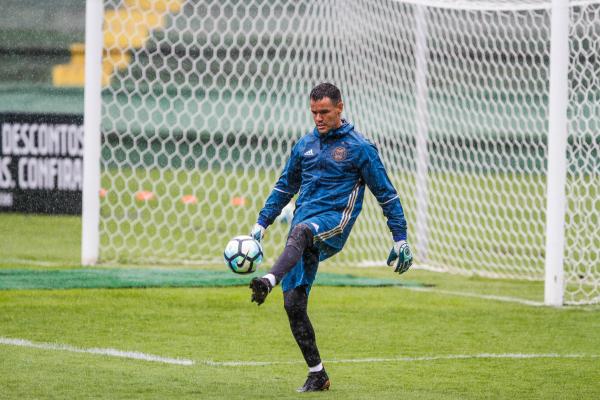 """""""O goleiro Wilson, do Coritiba: contrato at\u00e9 2020"""""""