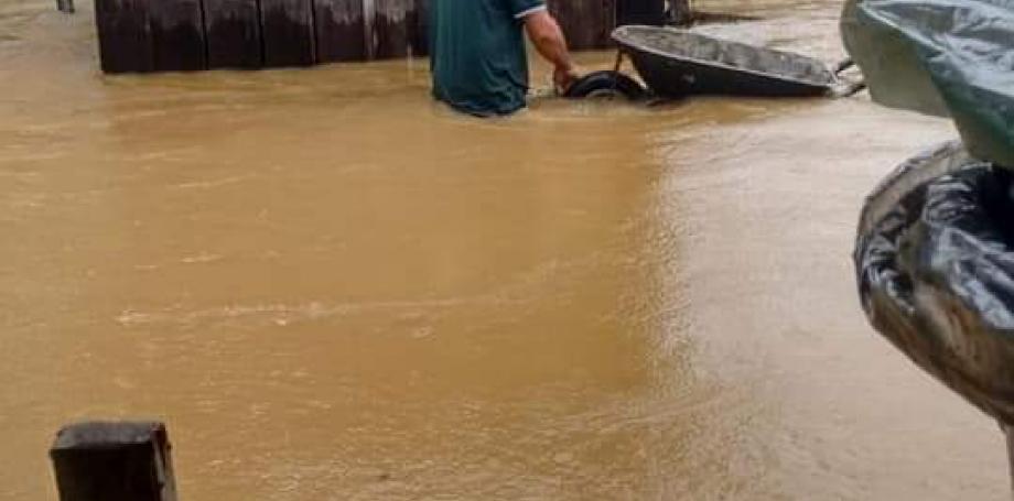 Chuva em Guaraqueçaba