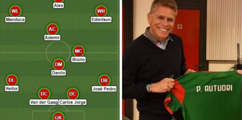 A seleção dos melhores da história do Marítimo, com Paulo Autuori, eleito o melhor técnico