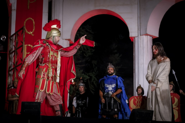 Encenação da Paixão tem ensaios todos os finais de semana em Curitiba