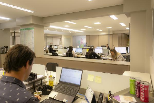 Espaço de trabalho deve oferecer conforto para o desenvolvimento das atividades laborais