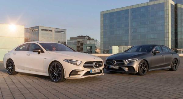 Mercedes CLS 450 4Matic: dotados pelo sistema híbrido EQ Boost