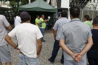 Assembleia na Praça Rui Barbosa