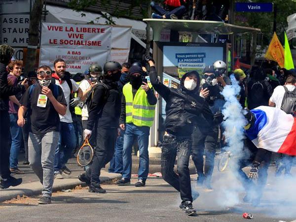 Dia do Trabalho, em Paris: 165 pessoas foram detidas