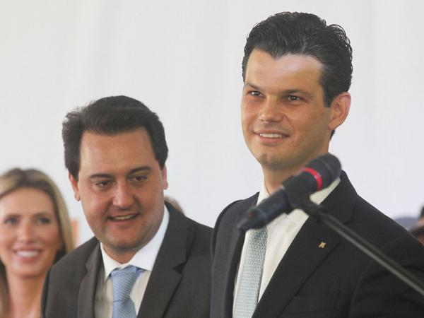 Ratinho Jr e Daniel Pimentel: meta de aproximação com o cliente