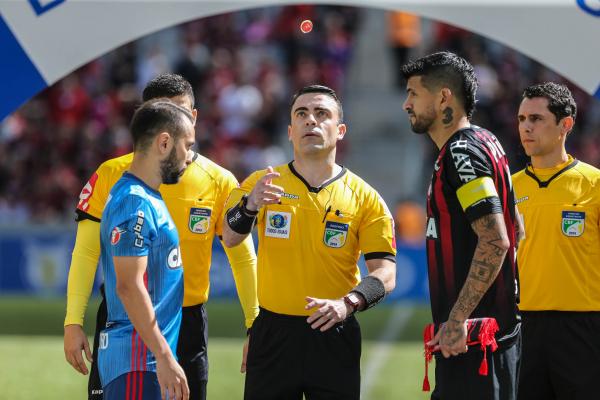 Athletico e Flamengo em 2018