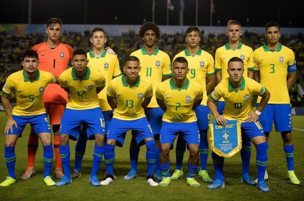 A seleção brasileira que enfrentou o Chile
