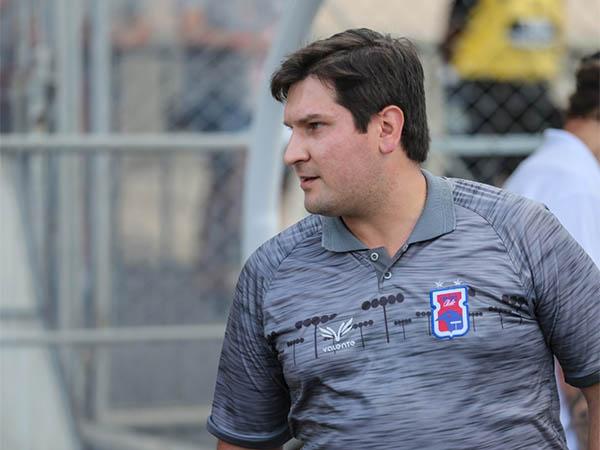 Matheus Costa, técnico do Paraná Clube