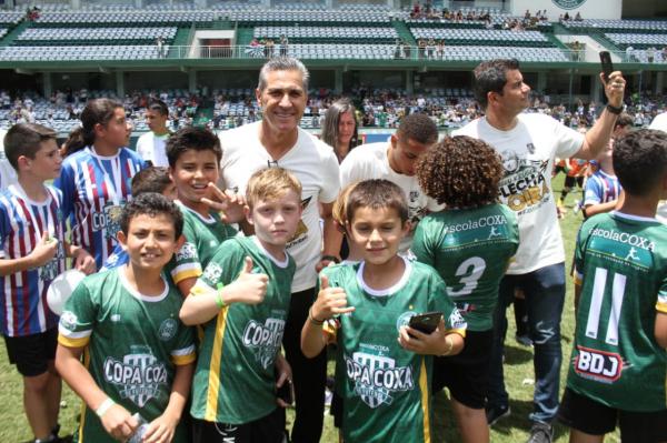 Jorginho: desejo de permanecer no Coritiba em 2020