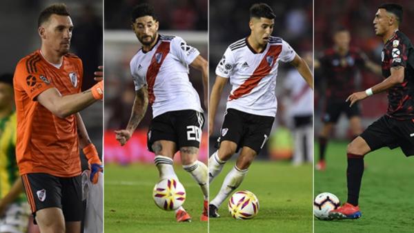 Os quatro do River convocados para a seleção argentina
