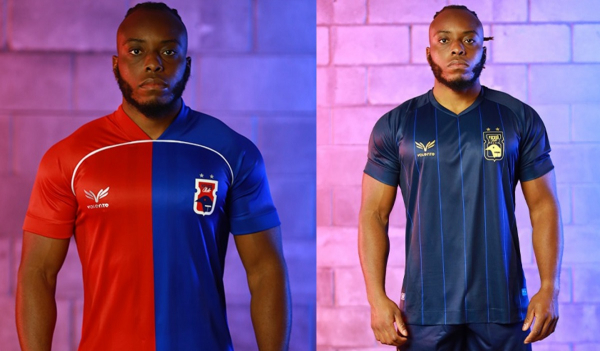 A nova camisa um e o novo uniforme de goleiro