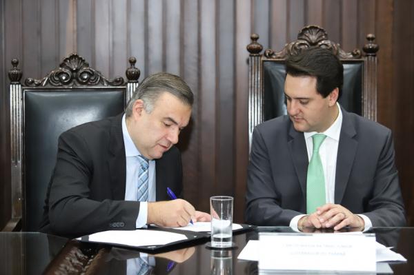 Governador Ratinho Jr lança aplicativo junto com o secretário Ney Leprevost na próxima segunda-feira