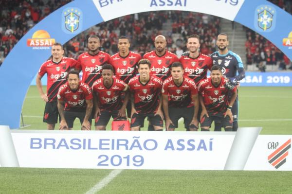 O time do Athletico para enfrentar o Palmeiras