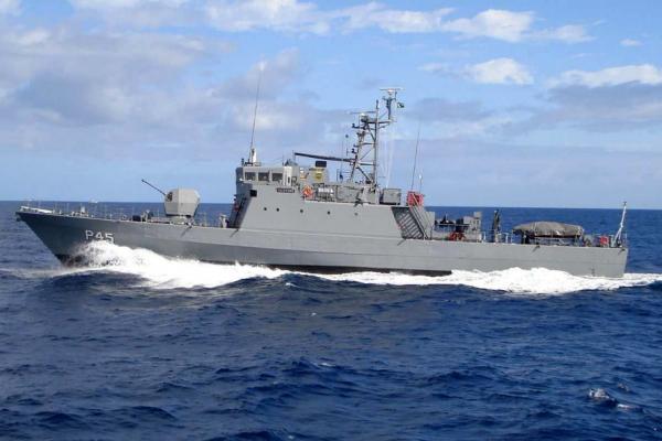 Porto de Paranaguá recebe Navio Patrulha Guaporé.
