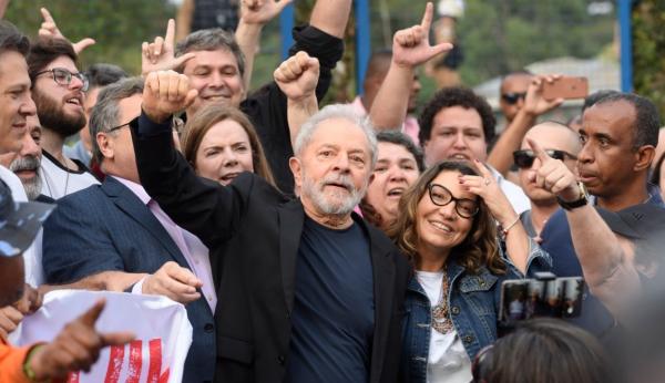 Lula: após deixar prisão, ex-presidente agradeceu apoio de vigília