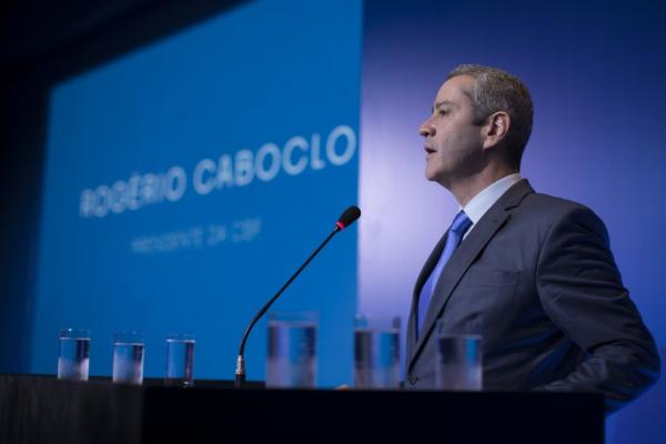 O presidente da CBF, Rogério Caboclo: socorro aos clubes