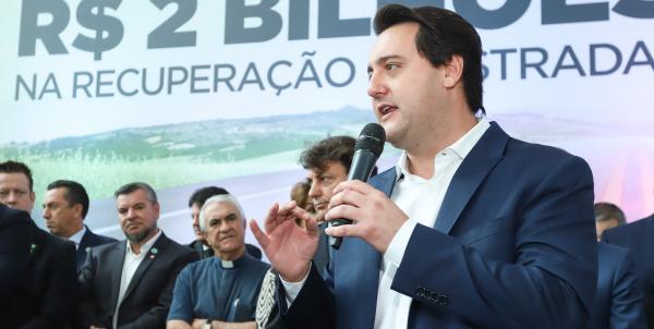 Ratinho Jr: déficit do Paraná com a previdência é de R$ 8 bilhões ao ano, segundo governador