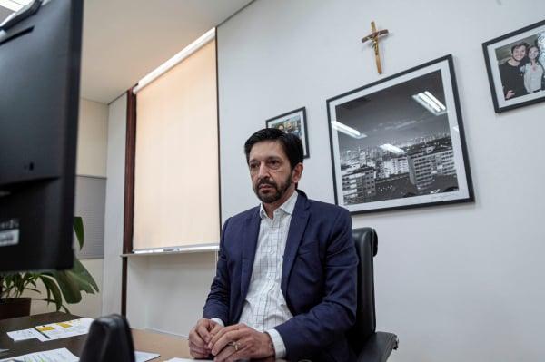 Vice de Covas, Ricardo Nunes assume prefeitura de SP sem pressa de fazer  mudanças - Bem Paraná