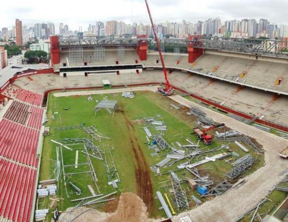 Dezenove pessoas haviam sido multadas por questões relacionadas ao emprego de recursos públicos na reforma e ampliação da Arena da Baixada