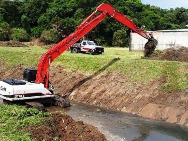 Dragagem no Rio Ressaca foi feito em dezembro
