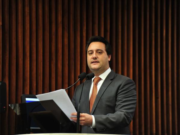 Ratinho Jr: governador também manifestou apoio ao pacote de medidas de combate à corrupção do ministro Sérgio Moro