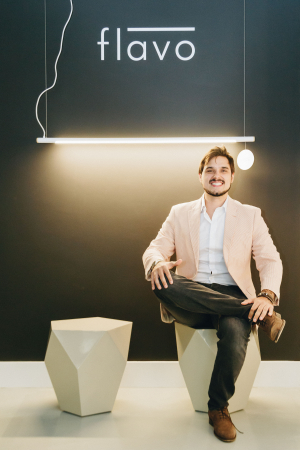 O empresário Germano Menon Forneck, da Flavo