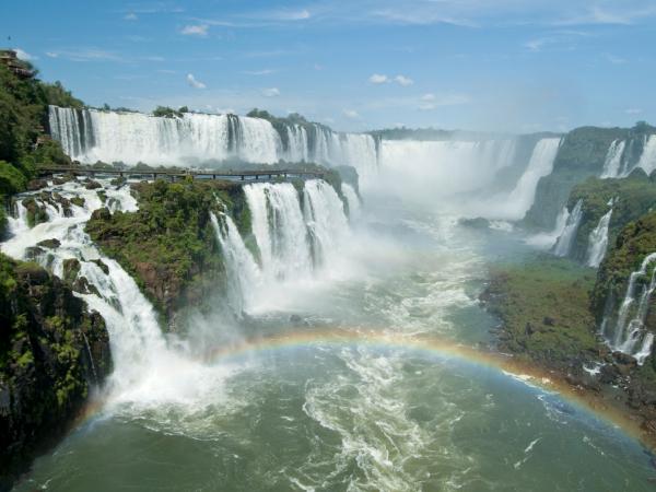 As Cataratas estão dentro do Parque Nacional do Iguaçu