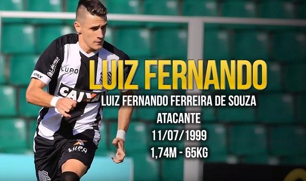 Luiz Fernando: revelado no futsal
