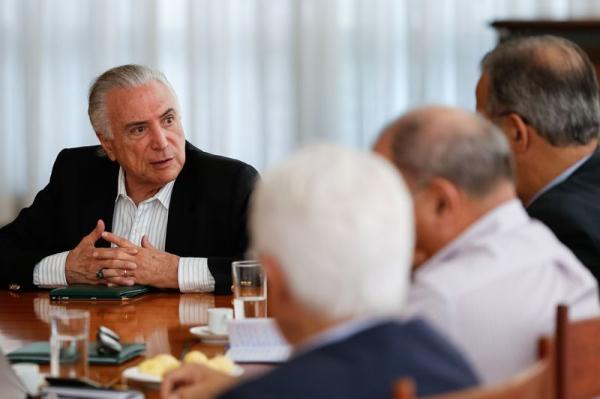 Michel Temer anuncia criação do Ministério Extraordinário da Segurança Pública