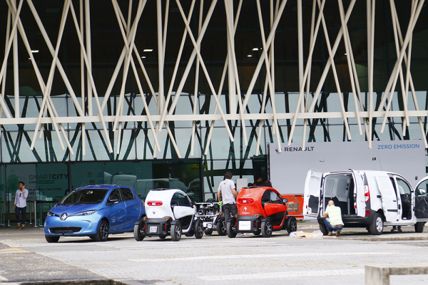 Smart City no Parque Barigui espera mais de seis mil pessoas em dois dias