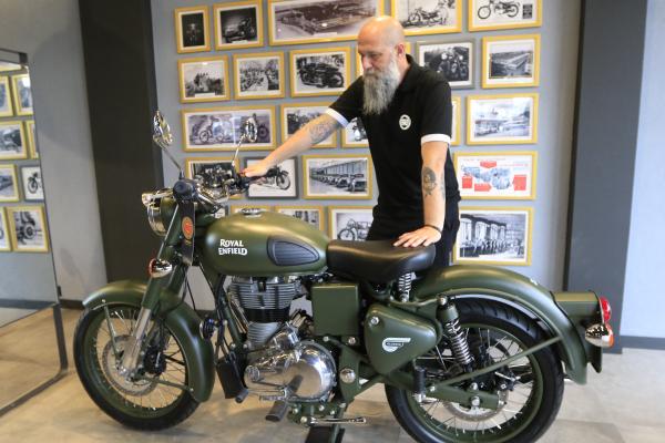 Concessionária da Royal Enfield em Curitiba: motos clássicas e atemporais