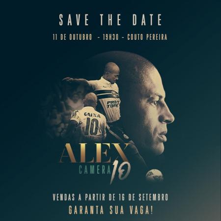 Cartaz de divulgação do documentário 'Alex Câmera 10'