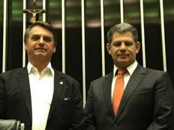 Bolsonaro e Bebbiano