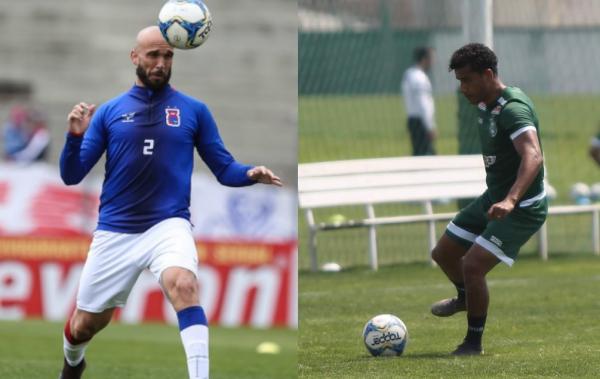 Sciola e Diogo Mateus: empate na lateral-direita