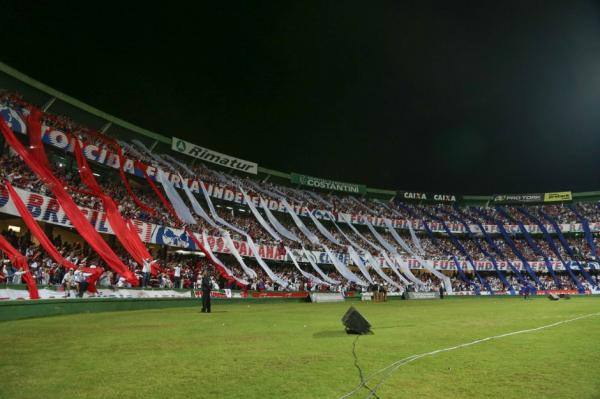 Torcida do Paraná Clube no Couto Pereira