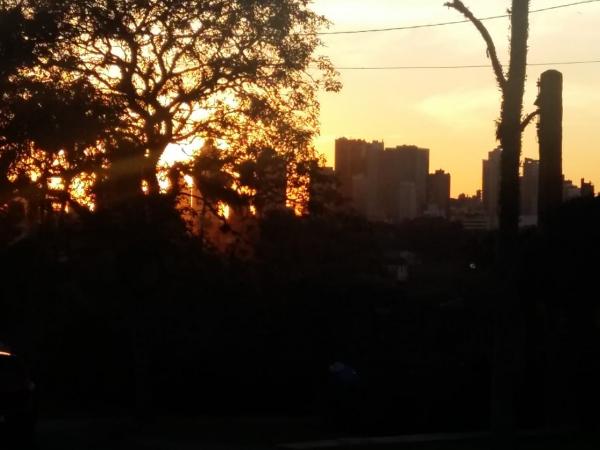 Sol em Curitiba
