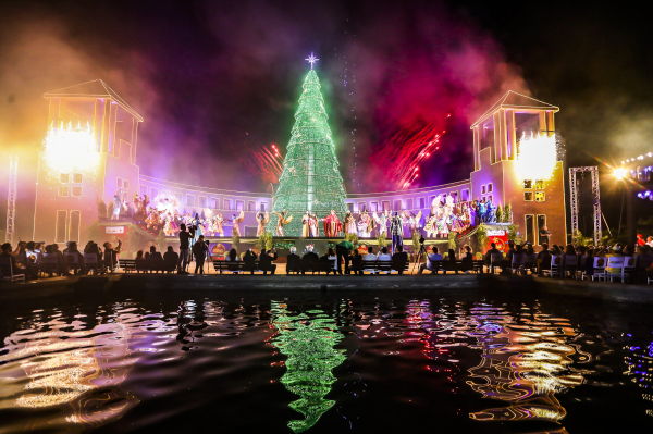 Auto de Natal do Tanguá:  espetáculo a céu aberto reúne 30 artistas, que tomam conta do espaço verde no Taboão para contar a história do nascimento de Jesus