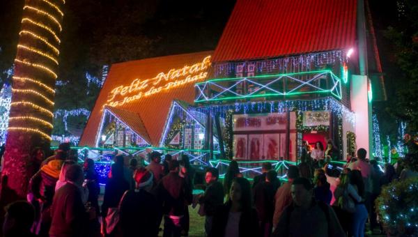 Casa do Papai Noel de São José dos Pinhais abre as portas no dia 26 - Bem Parana