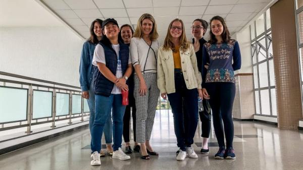 Organizadoras e ministrantes de oficinas sobre problemas matemáticos comprovam a relevância do papel das mulheres nas Ciências Exatas
