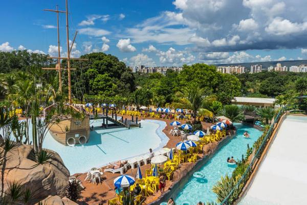 Parque Aquático de Águas Novas, em Goiás: buscas por bem-estar e belezas naturais em Goiás