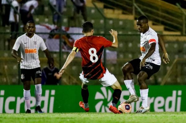 Athletico x Corinthians na Copinha