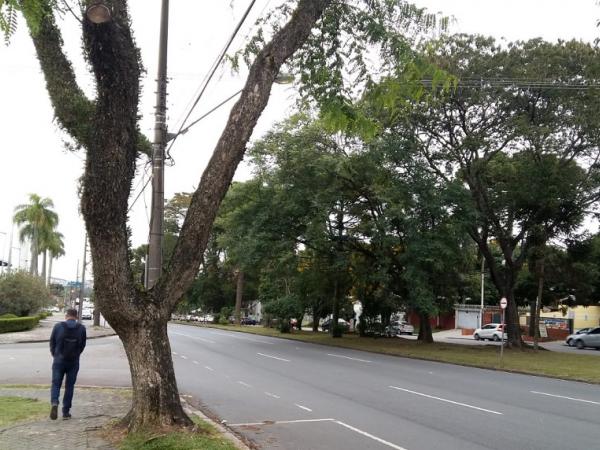 Frio em Curitiba nessa sexta-feira