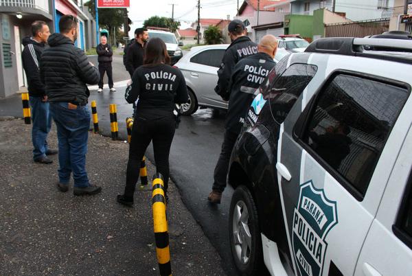 Operação mobilizou 550 policiais civis em todo o Estado, ontem