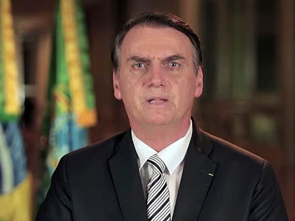 Jair Bolsonaro faz pronunciamento