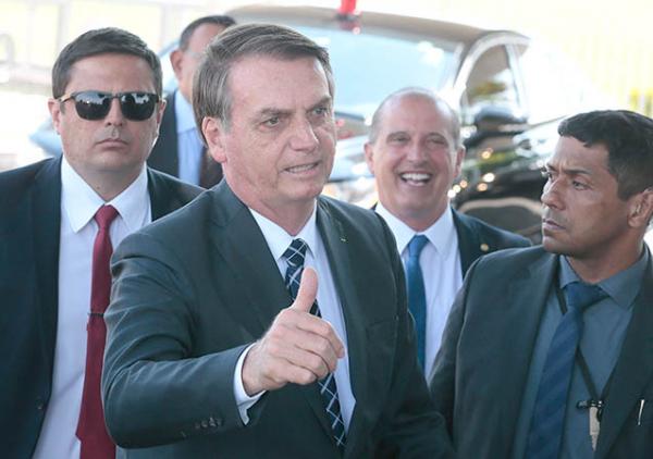 Bolsonaro: reunião com aliados