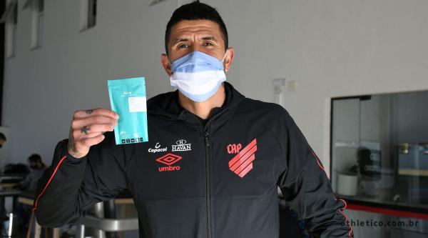 Lucho González e o teste quase 'instantâneo'