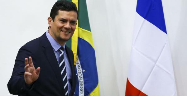 Moro: ministro intensificou a agenda política para tentar acelerar a tramitação no Congresso do pacote
