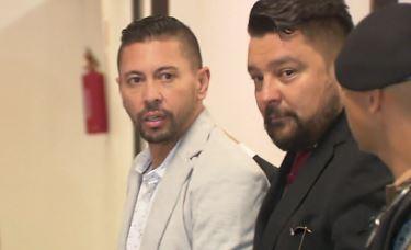 Edison Brittes e seu advogado Cláudio Dalledone