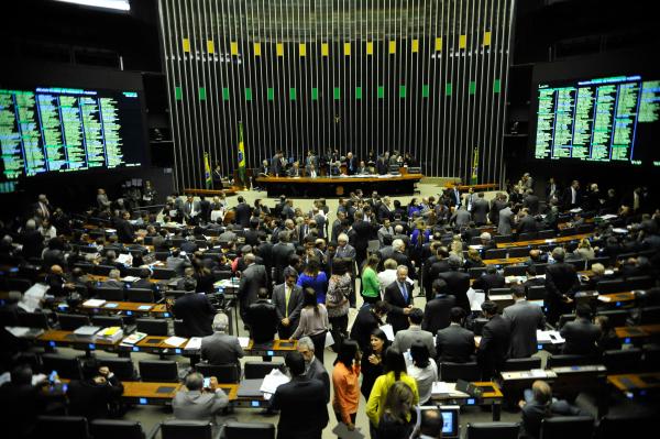 Câmara: líder do governo minimizou o impacto no Congresso da mensagem distribuída pelo presidente Jair Bolsonaro na qual ele diz que o país é ingovernável.