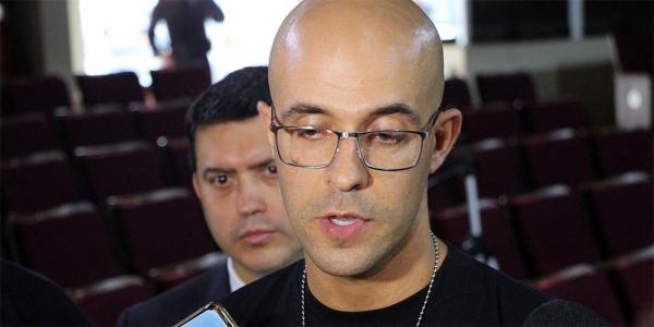 O delegado adjunto da Polícia Civil de São José dos Pinhais, Michel Carvalho